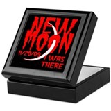 New Moon I was there Keepsake Box