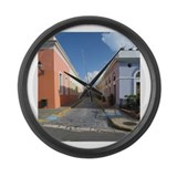 Puerto Rico Large Wall Clock