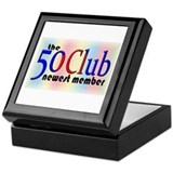 The 50 Club Keepsake Box