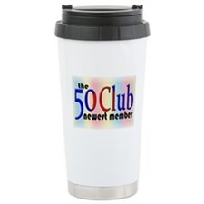 The 50 Club Ceramic Travel Mug