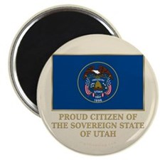 "Utah Proud Citizen 2.25"" Magnet (100 pack)"