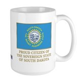 South Dakota Proud Citizen Coffee Mug