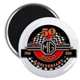 "Official ""50 Years of Midgets"" Magnet"