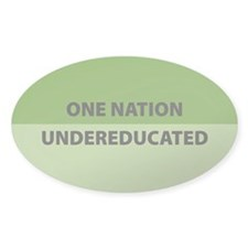 One Nation Oval Decal