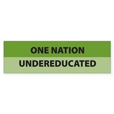 One Nation Bumper Bumper Sticker