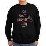 #1 Curling Grandpa Sweatshirt (dark)
