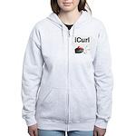 iCurl Women's Zip Hoodie