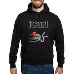 iCurl Hoodie (dark)