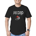 Second Men's Fitted T-Shirt (dark)