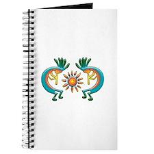 Kokopelli with Sun Journal