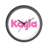 """Kayla"" Wall Clock"