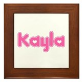 """Kayla"" Framed Tile"