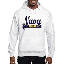 Collegiate Navy Mom 2 Hoodie