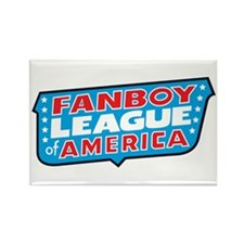 Fanboy League Rectangle Magnet