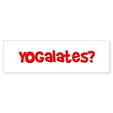 Yogalates Bumper Bumper Sticker
