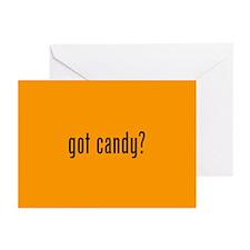 got candy? orange Greeting Cards (Pk of 10)