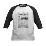 "London Herald ""Titanic SInks Tee"