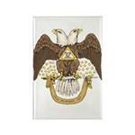 Scottish Rite 32 Rectangle Magnet