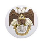 Scottish Rite 32 Ornament (Round)