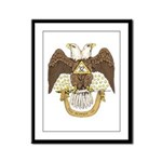 Scottish Rite 32 Framed Panel Print