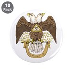 "Scottish Rite 32 3.5"" Button (10 pack)"