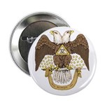 "Scottish Rite 32 2.25"" Button"