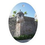Old San Juan Oval Ornament