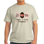 Peace Love Tri Light T-Shirt