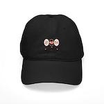 Peace Love Tri Black Cap