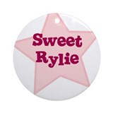 Sweet Rylie Ornament (Round)