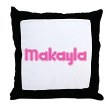 """Makayla"" Throw Pillow"