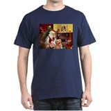 Santas Golden/Cavalier T-Shirt