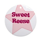 Sweet Reese Ornament (Round)