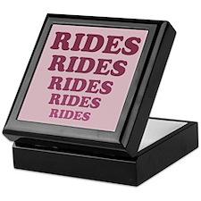 Rides Keepsake Box