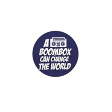 A Boombox Can Change the World Mini Button