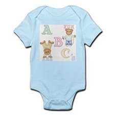 Teddy Tots Alphabet Infant Creeper