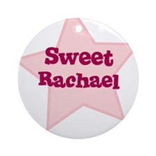 Sweet Rachael Ornament (Round)