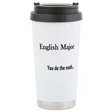 English Major Ceramic Travel Mug