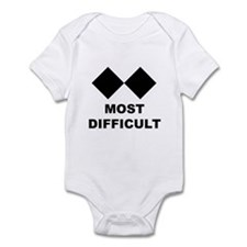 Cool Skiing kids Infant Bodysuit
