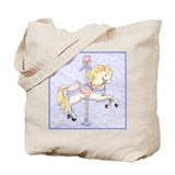 Carousel Horse Tote Bag