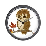 Whoo Me Owl Wall Clock