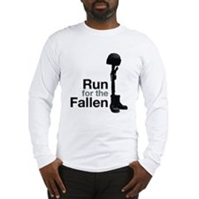 Run for the Fallen Long Sleeve T-Shirt