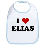 I Love ELIAS Bib