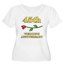 45th Rose T-Shirt