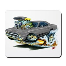Plymouth GTX Silver/Grey Car Mousepad