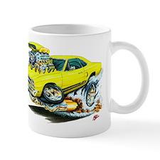Plymouth GTX Yellow Car Mug
