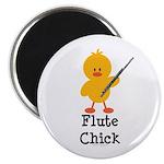 Flute Chick Magnet