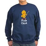 Flute Chick Sweatshirt (dark)