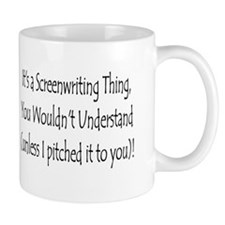 """Screenwriting Thing"" Coffee Mug"