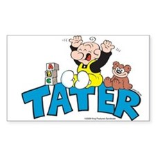 Tater Rectangle Sticker